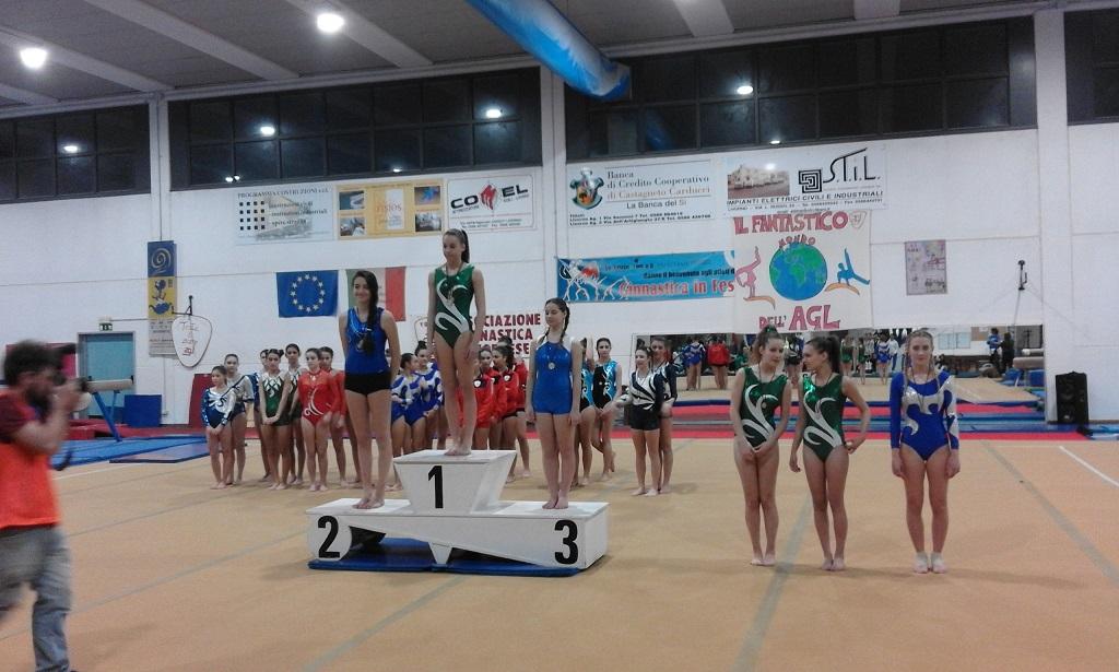 Campionato Regionale Ginnastica Artistica  Livorno 11-12 marzo 2017