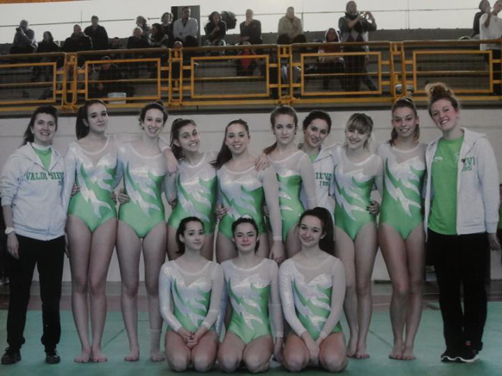 Risultati 1°prova campionato provinciale Ginnastica Artistica 13/14 Febbraio 2016