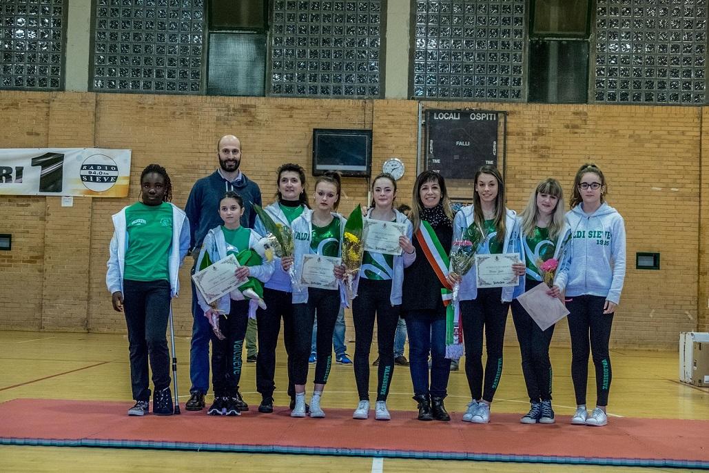 Le ginnaste della Valdisieve premiate a Sportassieve