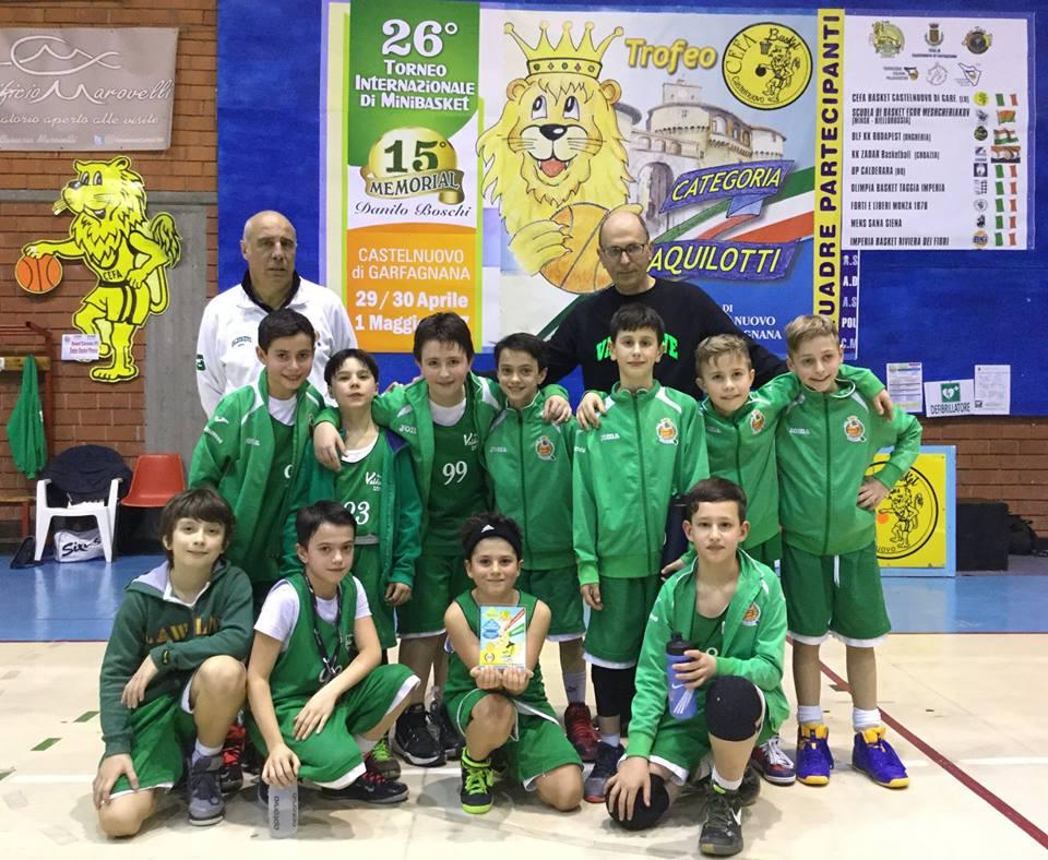 Torneo Internazionale di Minibasket Trofeo CEFA-Memorial Danilo Boschi
