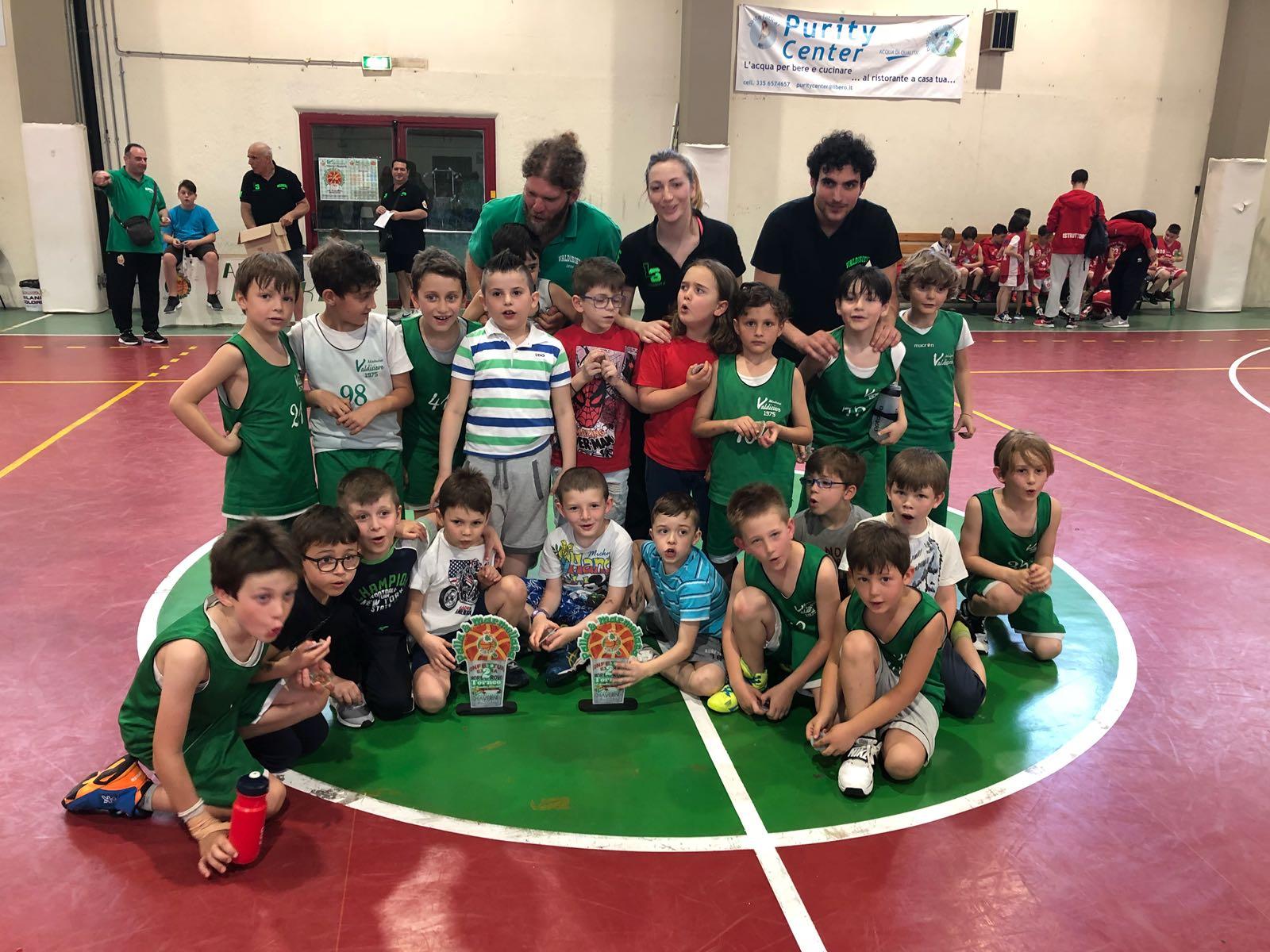 Secondo Torneo Scoiattoli Palla e Marmellata 13 Maggio 2018