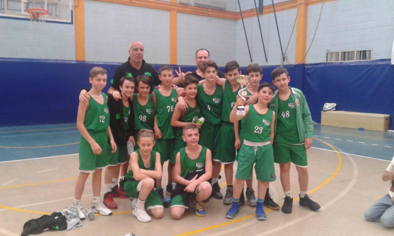 Esordienti vittoriosi al Torneo Primavera di Calenzano