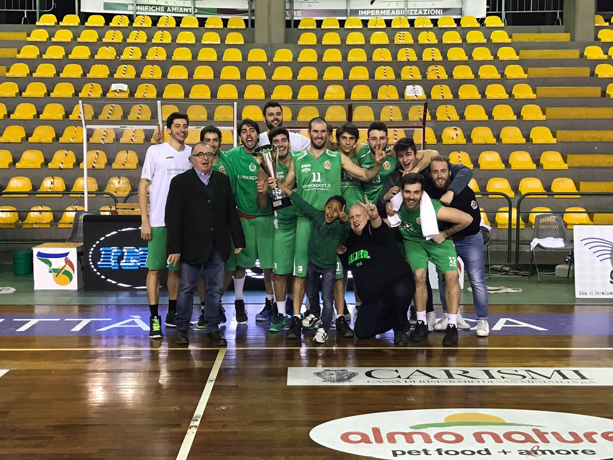 La Lorex Sport Valdisieve vince la Coppa Toscana 2017!!