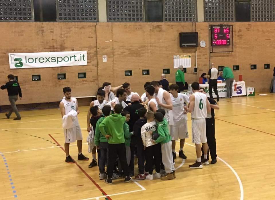 25°g. Lorex Sport Valdisieve-Olimpia Legnaia 87-65