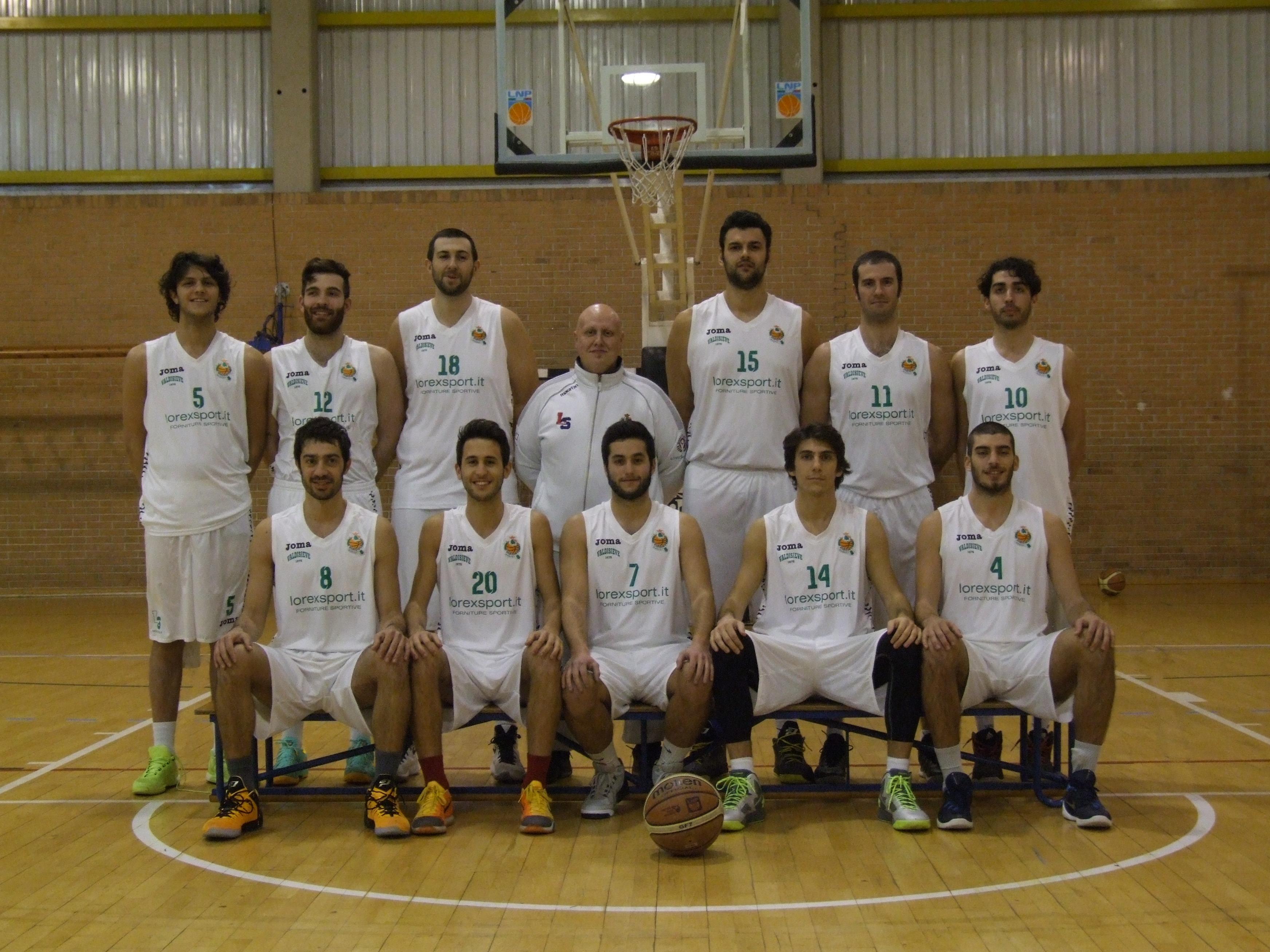 Lorex Sport Valdisieve-ABC Castelfiorentino 95-60