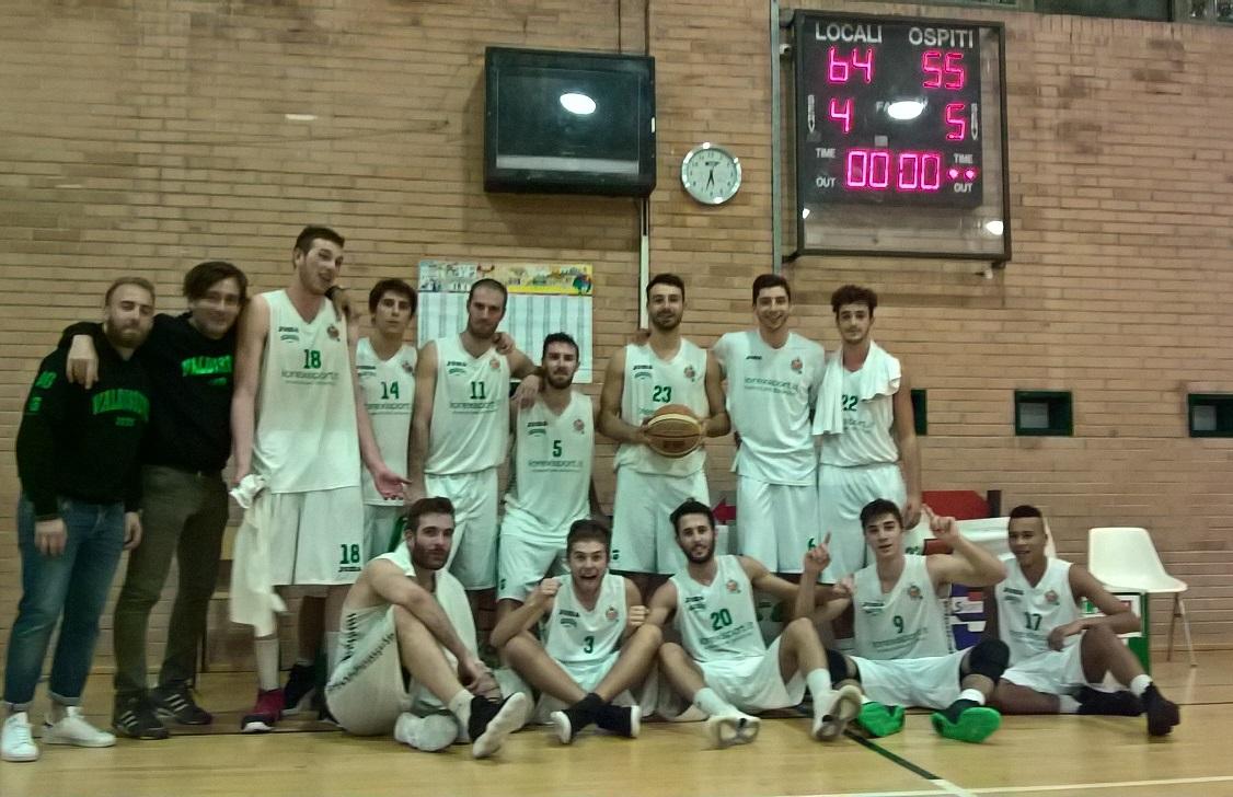 3°g. Lorex Sport Valdisieve-Pino Dragons 64-55