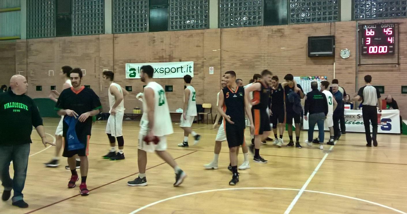 7°g. Lorex Sport Valdisieve-Synergy Valdarno 66-45
