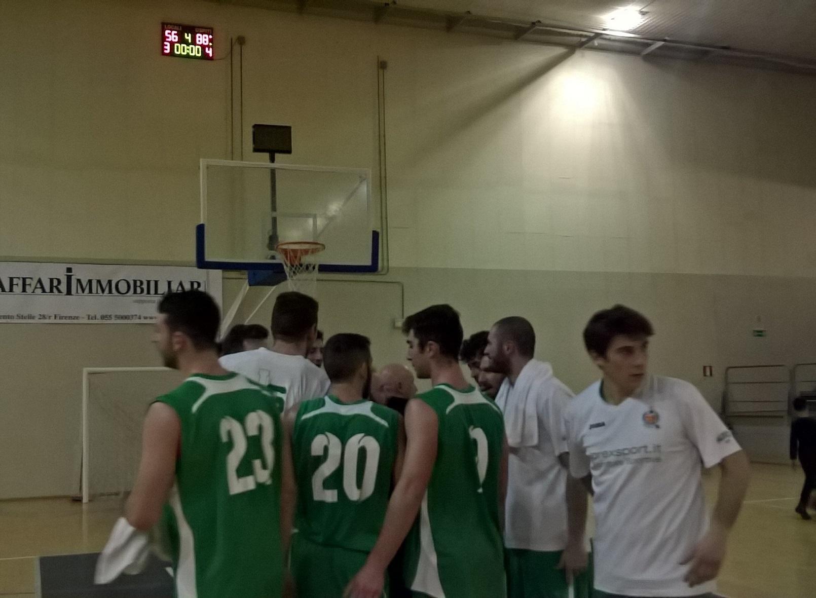 18°g. Olimpia Legnaia-Lorex Sport Valdisieve 56-88