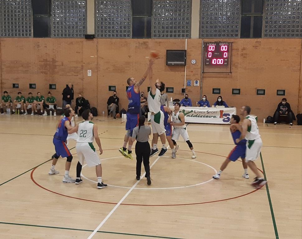 ASD Valdisieve-Pall.Prato Dragons 68-63
