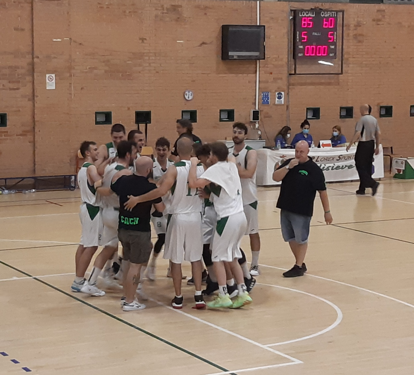Playout gara 3 ASD Valdisieve-Basket Montale 85-60