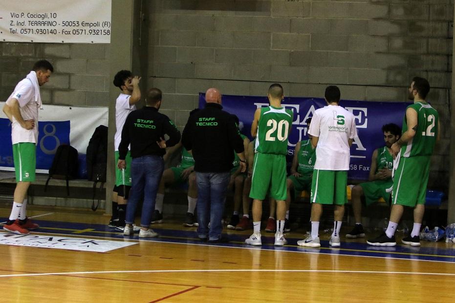 23°g. Pallacanestro Empoli-Lorex Sport Valdisieve 63-82