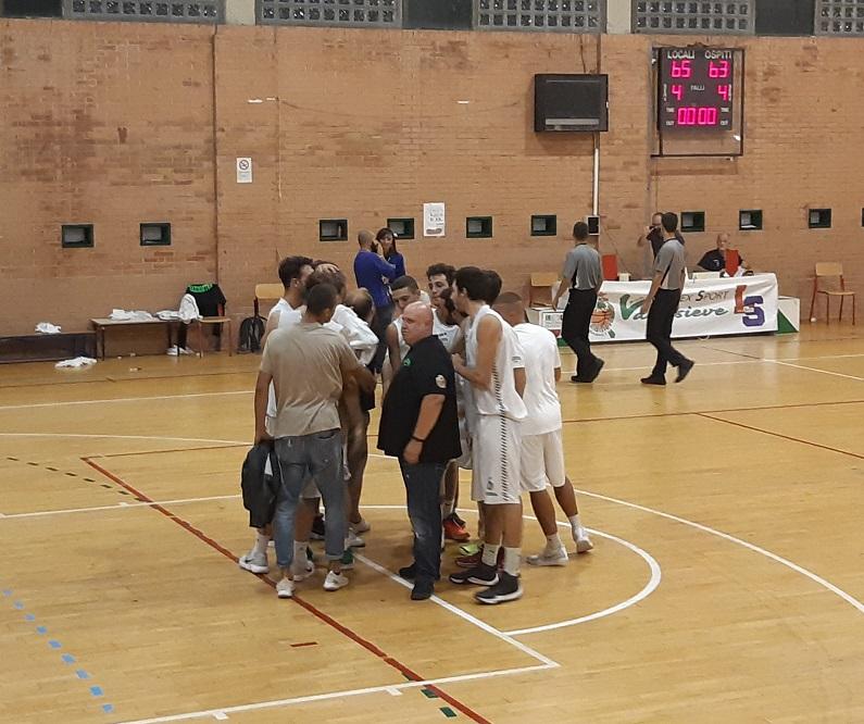 Quarti di finale Coppa Toscana - ASD Valdisieve-Pielle Livorno 65-63