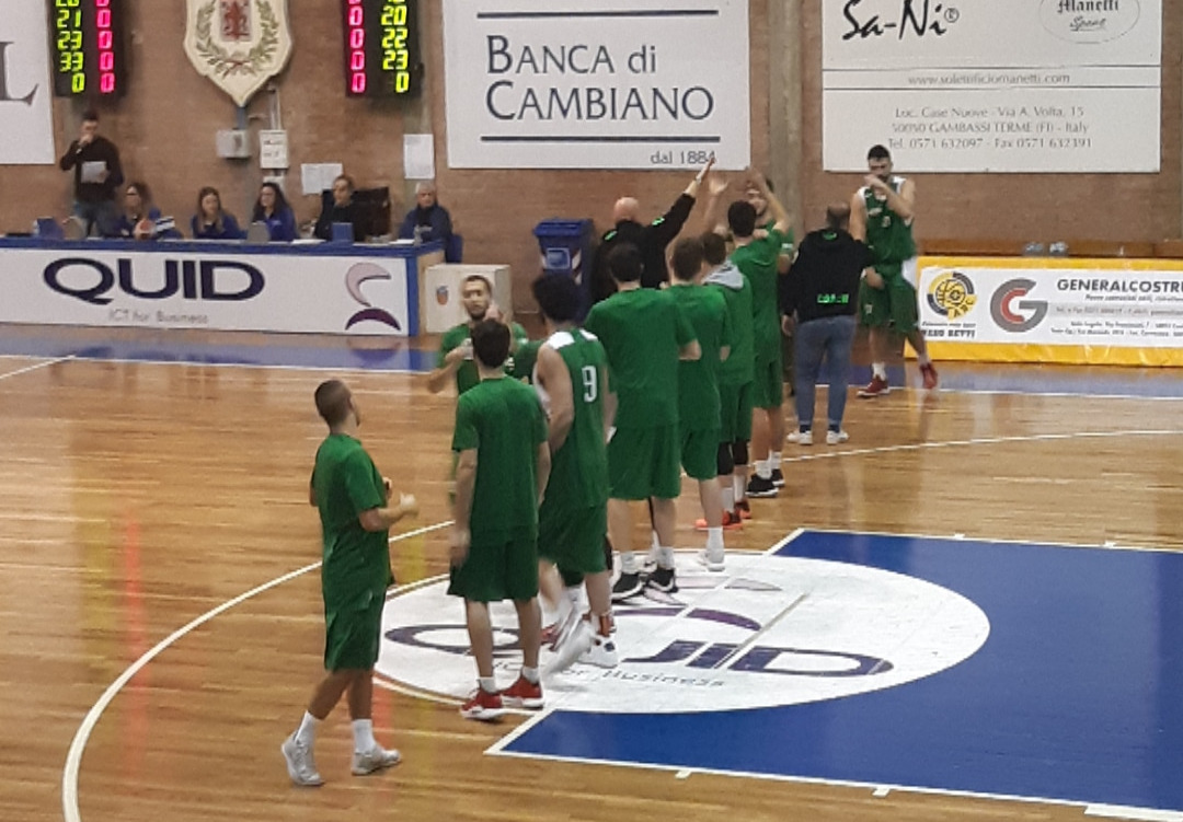 Finale Coppa Toscana Pino Dragons-ASD Valdisieve 72-49