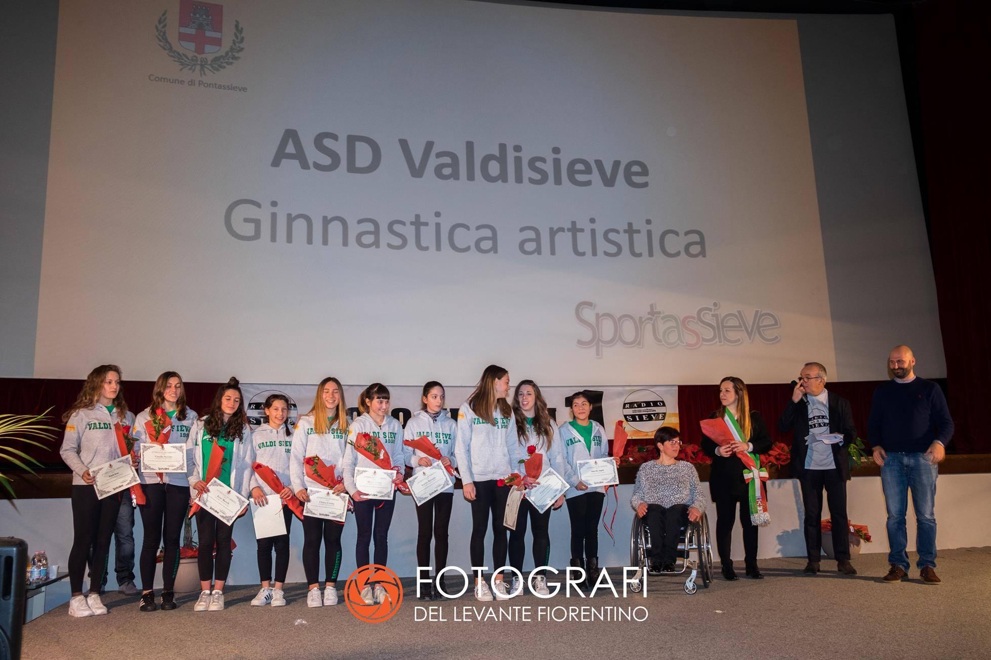 Premiazione Sportassieve 2018